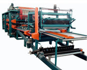 China Double Belt PU Sandwich Panel Making Machine Automatic For Roof Wall Panel distributor