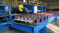 Best Hydraulic High Speed PU Sandwich Panel Roll Forming Machine for Roof and Wall Panel for sale