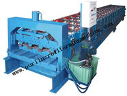 Best Hydraulic Floor Deck Roll Forming Machine 22KW Steel Floor Decks Roll Former Line for sale