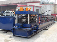 Best Hydraulic PLC Control Purlin Roll Forming Machine , Z Purlin Making Machine for sale