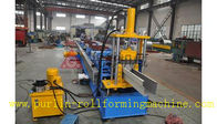 China Professional Rainwater Seamless Gutter Machine High Speed Gutter Roll Forming Machine distributor